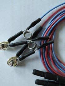 Wiederverwendbare Ohrclip Elektrode ,Silber (Ag), Erwachsenen-