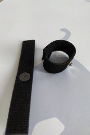Finger Electrode, klettband, für GSR/EDA, je stück