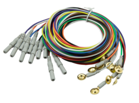 Gold Napf Electrodes, 10 Stück