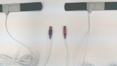 Limb Bewegungssensor-Kit (2 Limbs + 2 Bänder) / Key-Anschluss Leg Farbe Label (200 cm)