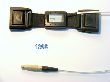 Piezo-Kristall Effort Sensor Kit, Erwachsene Person, Doppelschnalle / Alice 4 kompatibel