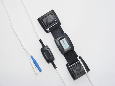 Piezo-Kristall Effort Sensor Kit, Erwachsene Person, Doppelschnalle / Alice 5-kompatible