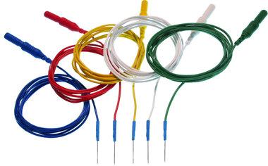 Einweg Subdermal EEG Nadelelektrode, 4 x 6 Farben
