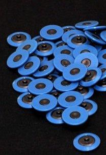 Blaue Ring elektroden, Drückknopfanschluss