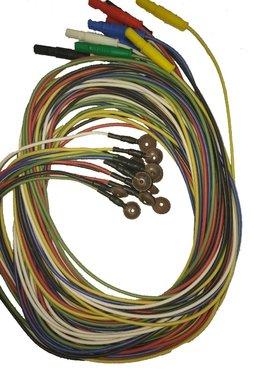 Ag / AgCl Napf Elektroden, Packung mit 12 Stück in eine Farbe