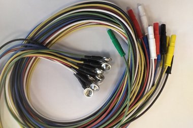Napf Elektroden, Zinn, Satz von 12 Stück